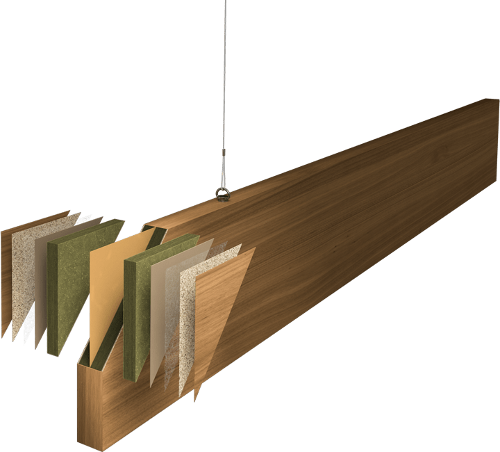 BaffleExplodedDiagram 1810 1 - Cella Acoustic Baffles